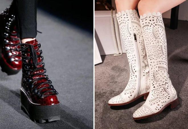 стильная женская обувь на весну