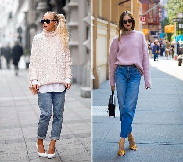 Стильные образы с джинсами 2