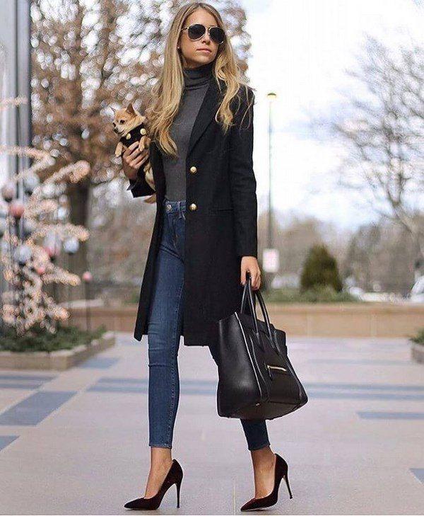 Стильные пальто для женщин: модные тенденции, фасоны - фото
