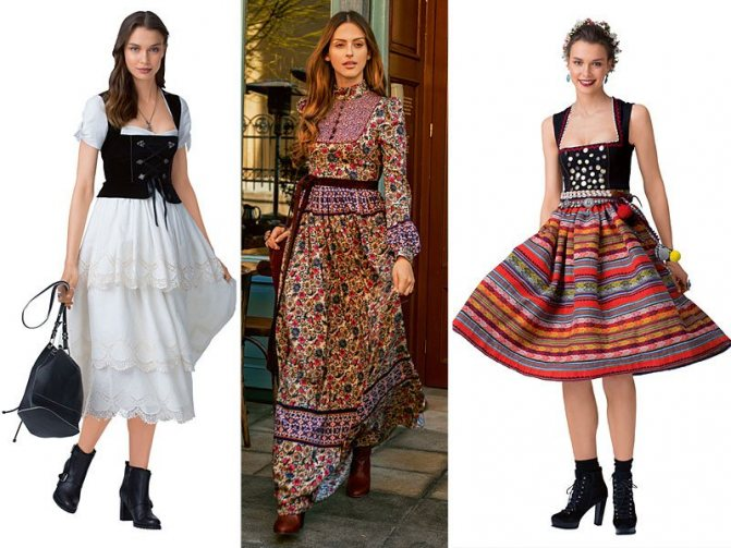 Стильные платья на девушках