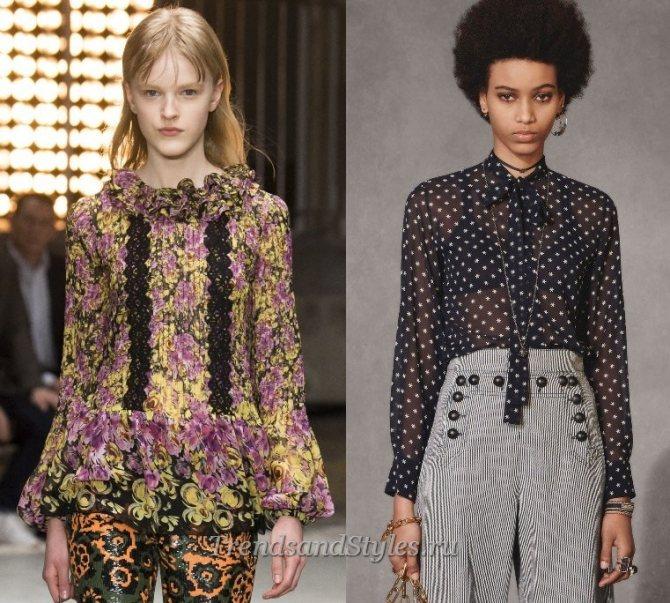 стильные женские блузки 2020 фото новинки