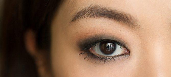 стрелки для азиатских глаз с нависшими веками