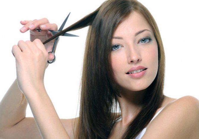 Стричь волосы самой себе