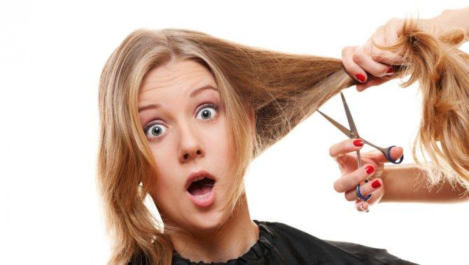 Стрижем волосы