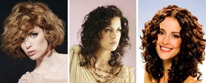 Стрижка в стиле итальянка на волнистые волосы