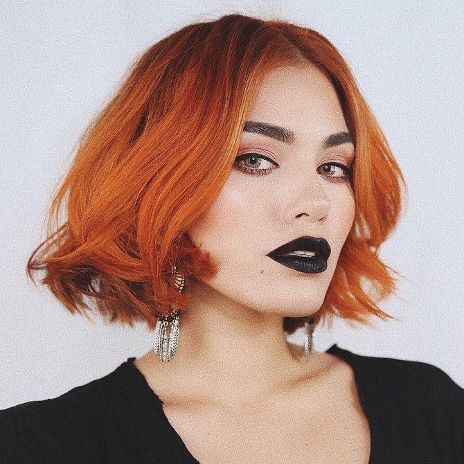 стрижки для коротких рыжих волос фото 5