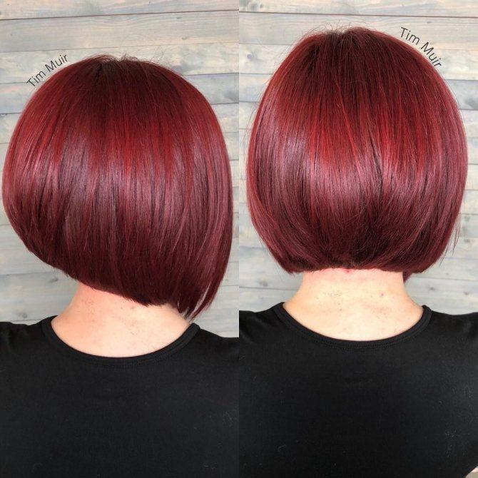 стрижки для коротких рыжих волос фото 7
