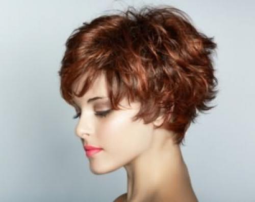 Стрижки для пористых пушистых волос. Женские стрижки 01