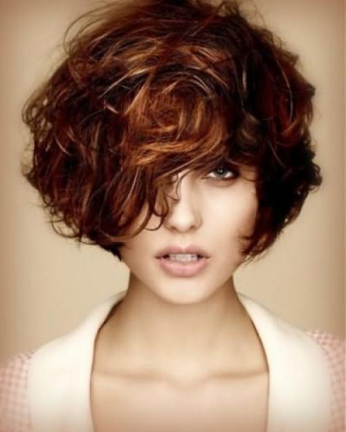 Стрижки для пористых пушистых волос. Женские стрижки 03