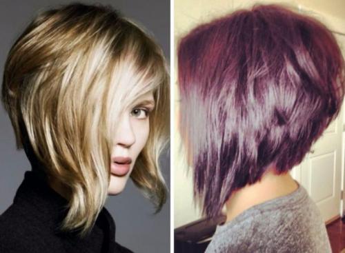 Стрижки для пористых пушистых волос. Женские стрижки 19