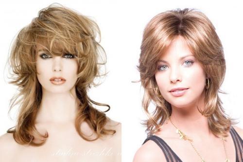 Стрижки для пушистых волос 2020. На длинные волосы