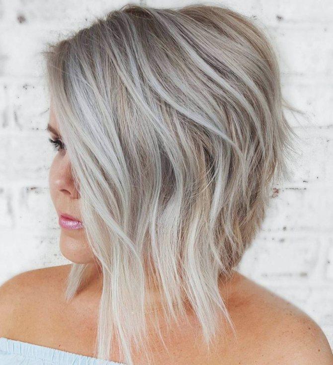 стрижки на короткие волосы для полных женщин