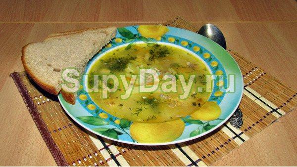 Суп гороховый с рыбный