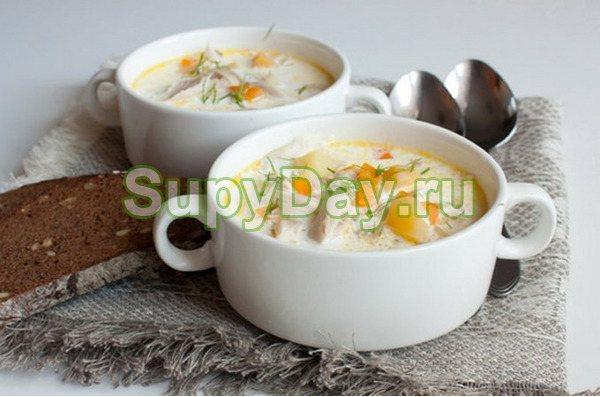 Суп-гуляш из утиных потрохов