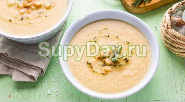Суп-пюре с уткой