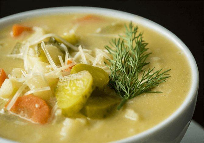 Суп рассольник рецепт классический – картинка