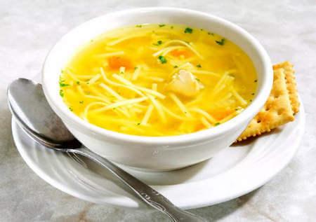Суп с вермишелью для ребенка