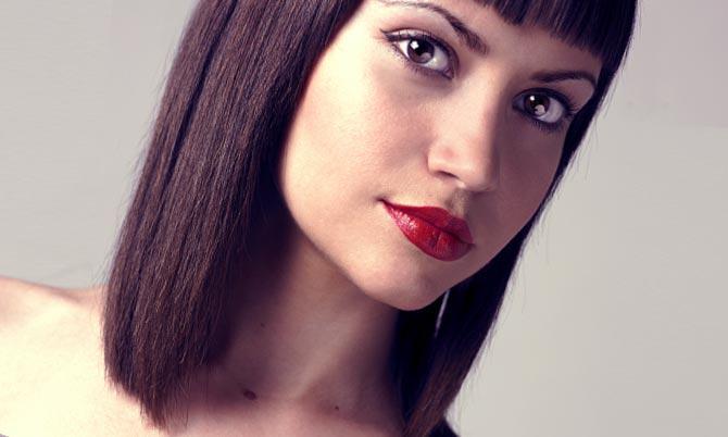 Существуют разные методы окантовки волос