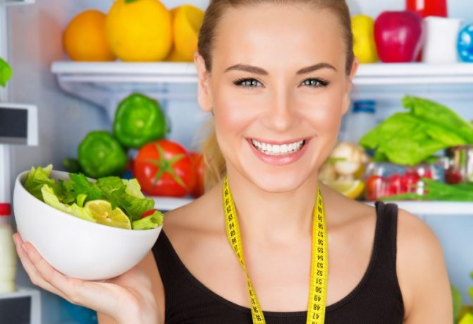 Зимняя диета похудения меню