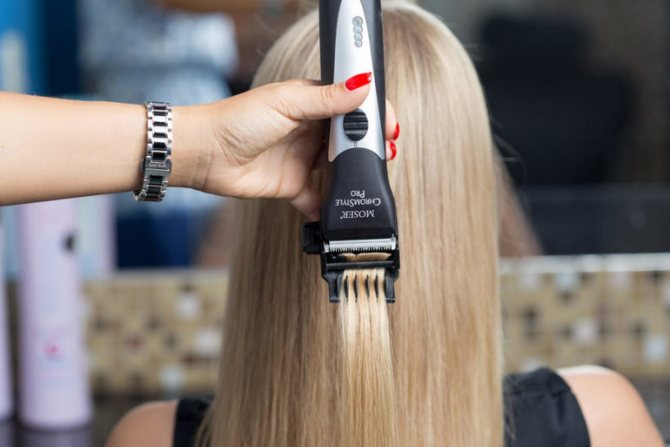 Суть полировки волос