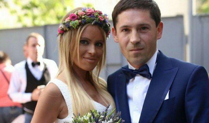 Свадьба Даны Борисовой и Андрея Трощенко
