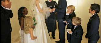 Свадьба Джоли и Питт