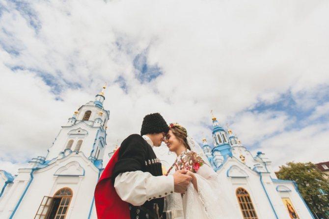 Свадьба, проведенная в Донском крае, отличается колоритными традициями.