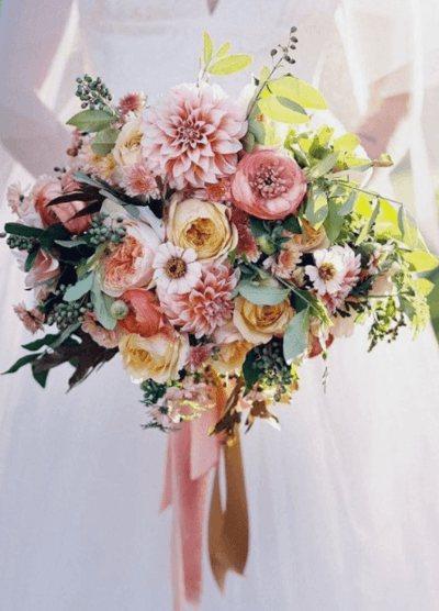 свадебный букет цена
