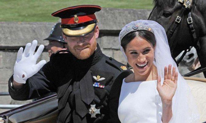 Свадебный кортеж Меган Маркл и принца Гарри