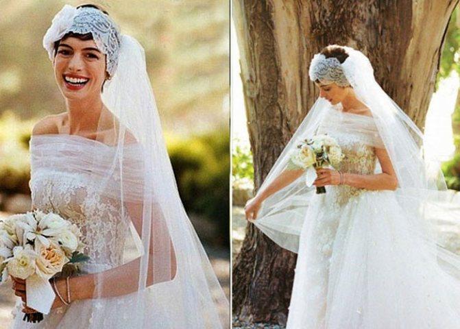 Свадебный образ шикарной дивы