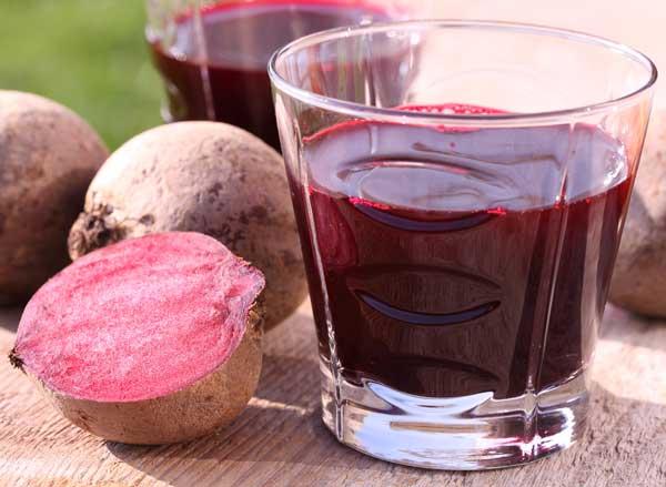 свекольный сок как краситель