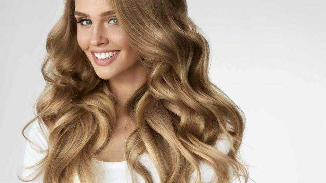 Светлый пигмент волос