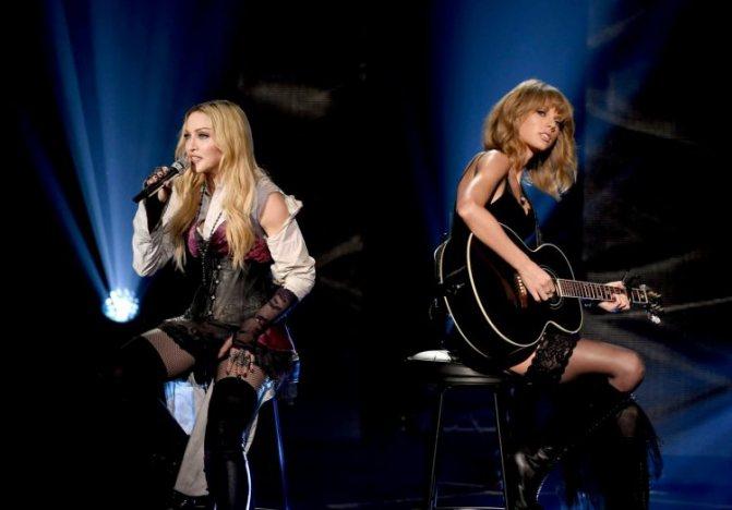 Свифт с легендой поп-сцены Мадонной