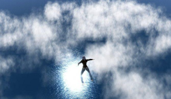 Свободное падение в ночном видении