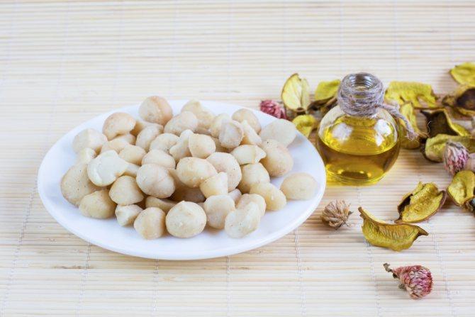 Свойства масла ореха макадамии