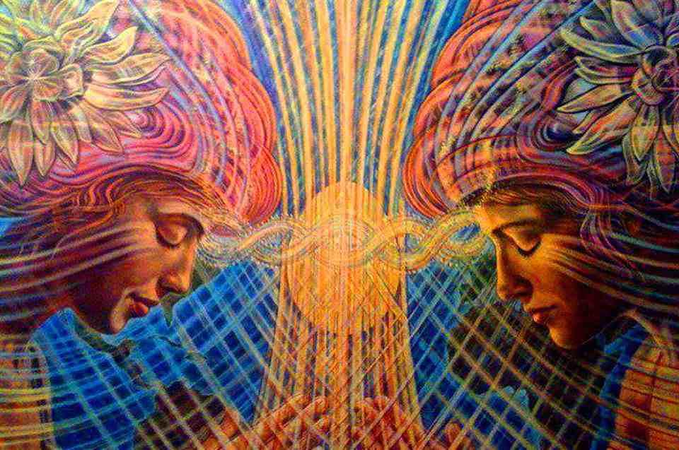 связь между душами