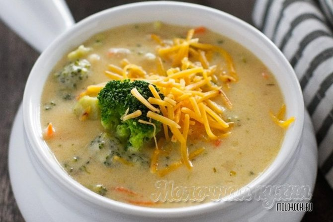 Сыр для сырного супа
