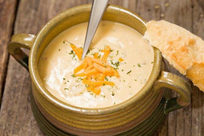 Сырный суп из твердого сыра: простые рецепты с фото