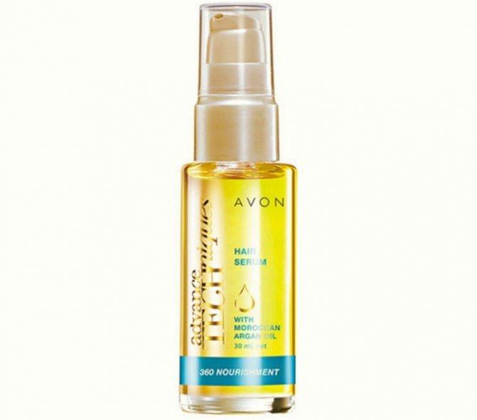 Сыворотка-масло для волос от Avon