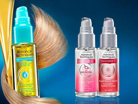 сыворотки для волос эйвон