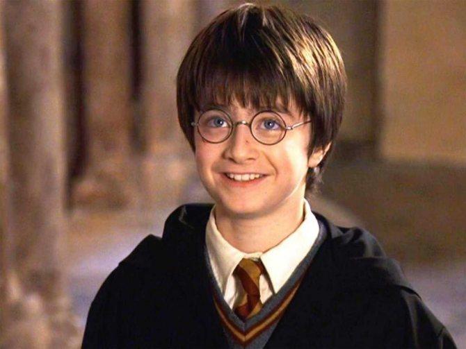 Так он выглядел в первом фильме про Гарри Поттера