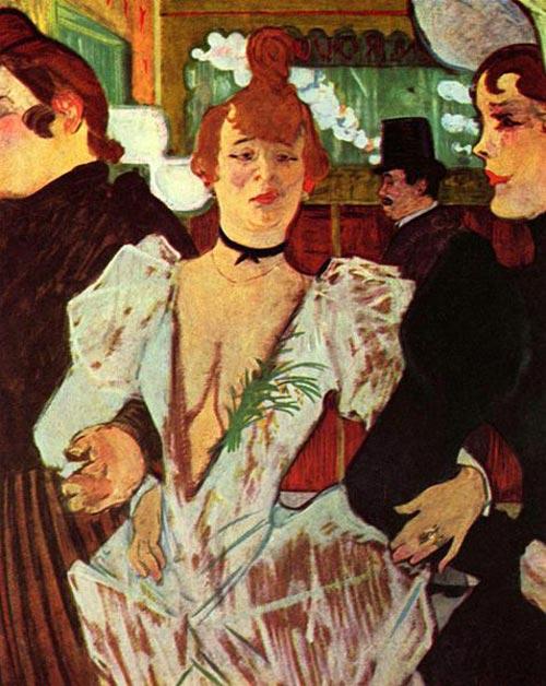 Танцовщица Ла Гулю, увековеченная на картине Тулуз-Лотрека