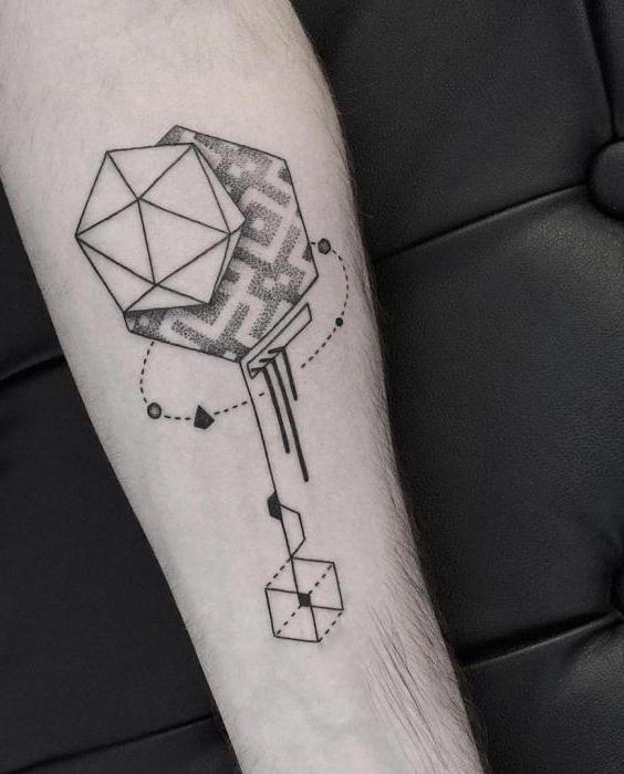 тату геометрия