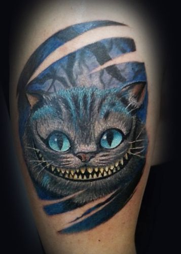 Тату котик, CrazyTattoo