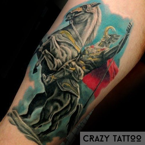 Тату лошадь, CrazyTattoo