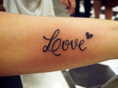 Тату надписи про любовь