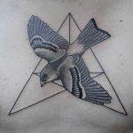 Татуировка голубь и ее значение