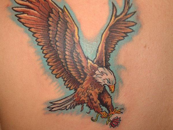 татуировка орел значение