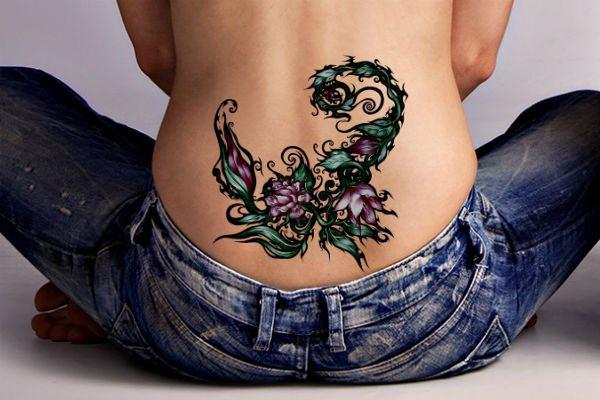 Татуировка Скорпион фото