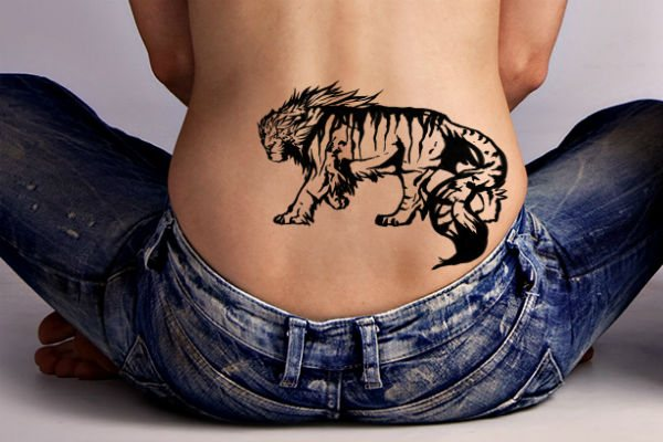 Татуировка Тигр фото